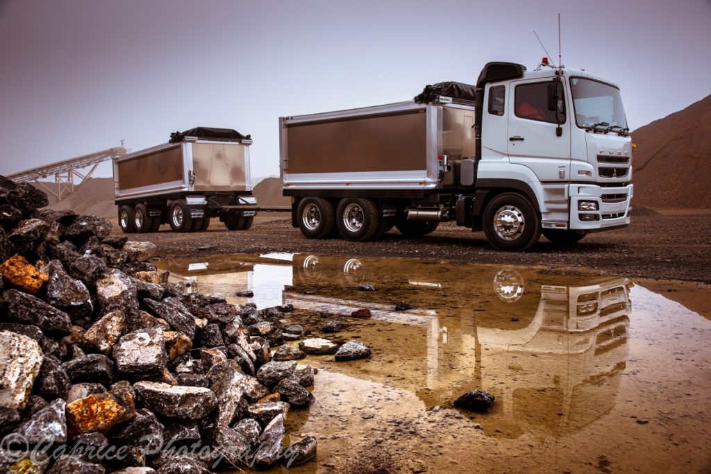 Commercial transport photography